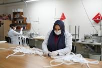 MESLEK EĞİTİMİ - İnegöl Belediyesi 35 Bin Maske Üretti