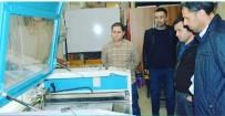 MESLEK LİSESİ - Kayhan Ergun Meslek Lisesi Siperli Tıbbi Maske Üretimine Başladı