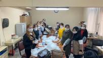 HALK EĞİTİM MERKEZİ - Kdz. Ereğli HEM Maske Ve Tulum Üretiyor