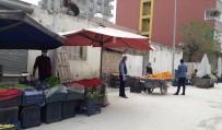 PAZARCI - Kızıltepe Belediyesi Pazarda Vatandaşlara Maske Ve Eldiven Dağıttı