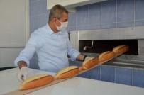 HALK EKMEK - Koçarlı Menderes'in İlk Ekmeğini Başkan Kaplan Eliyle Yaptı