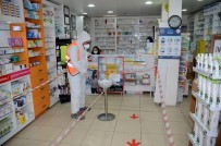 SIVIL TOPLUM KURULUŞU - Kuşadası'nda Korona Virüsle Mücadele Aralıksız Sürüyor