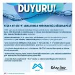 SU FATURASI - Mersin'de Nisan Ayı Su Faturalarında Korona Virüs Düzenlemesi