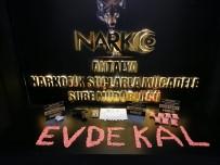 NARKOTIK - Polisten Uyuşturucu Operasyonu Sonrası 'Evde Kal' Mesajı