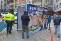 EYLEM PLANI - Türkeli'ye 'Dezenfeksiyon Tüneli' Kuruldu