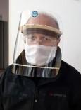 ALI SıRMALı - Üniversitede Hafta Sonu Mesai Yaptılar 1000 Adet Siperli Maske Ürettiler