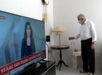 MAHSUR KALDI - Yurt Dışından Memleketine Gelen 65 Yaşındaki Vatandaş, Evde Yalnız Kaldı