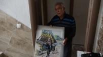 RESSAM - 112'Den Malzeme Siparişi Veren 65 Yaş Üstü Ressam, Ekiplere Tablo Hediye Etmek İstedi