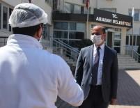 İŞ SAĞLIĞI VE GÜVENLİĞİ - Araban Belediyesinde Korona Virüs Tedbirleri