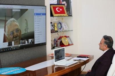 Belediye Başkanları Telekonferans Sistemiyle Bir Araya Geldi