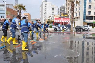Cizre Belediyesi Korona Virüs Salgınına Karşı Çalışmalarını Arttırdı