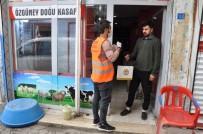 CİZRE BELEDİYESİ - Cizre Belediyesi Vatandaşlara Ücretsiz Maske Ve Eldiven Dağıttı
