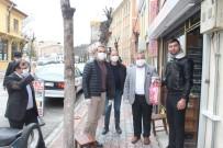 ESNAF ODASı BAŞKANı - Emet Esnaf Odası'ndan Tüm Esnaflara Maske, Eldiven Ve Dezenfektan