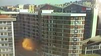 DOĞALGAZ PATLAMASI - Esenyurt'ta Bir Binada Patlama Açıklaması 7 Yaralı, Patlama Anı Kamerada