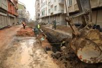 YAĞMUR SUYU - Fatsa'da 3,5 Milyon TL Maliyetli Alt Yapı Çalışması Devam Ediyor
