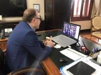 MUSTAFA TUTULMAZ - İl Pandemi Kurulu Video Konferansla Görüştü