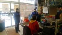 İSTANBUL EMNİYETİ - İstanbul'da Esnaf Ve Vatandaşlara 'Korona Virüs' Uyarısı