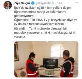 FREKANS - Milli Eğitim Bakanı Ziya Selçuk, Iğdırlı Öğretmenleri Tebrik Etti