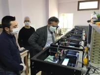 İL MİLLİ EĞİTİM MÜDÜRÜ - Milli Eğitim Kurumları Maskeyi Seri Üretmeye Başladı
