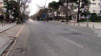 BAĞDAT - (Özel) Bağdat Caddesi Adeta Hayalet Caddeye Döndü