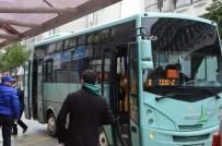 ŞEHİR İÇİ - Özel Halk Otobüsleri Yakıt Desteği İstedi