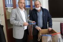 ANADOLU LİSESİ - Sungurlu'da ATT'ler İçin Yüz Koruyucu Siperlikleri Ürettiler