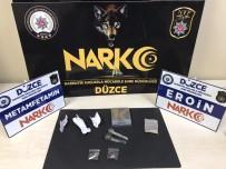 UYUŞTURUCU MADDE - Uyuşturucu Madde Taşıyan 3 Kişi Yakalandı