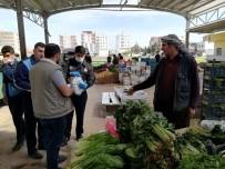 PAZARCI - Viranşehir Semt Pazarında Ücretsiz Maske Dağıtıldı