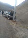 Artvin'de Trafik Kazası Açıklaması 1 Ölü,1 Yaralı
