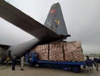 YARDIM PAKETİ - Türkiye'nin ikinci yardım paketi ABD'ye ulaştı!