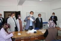 Milli Eğitim Müdürlüğü'nden Tomarza Halk Eğitim Merkezi'ne Malzeme Desteği