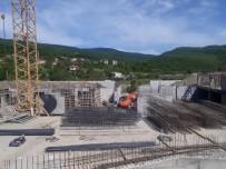 Yeni Cide Devlet Hastanesi İnşaatında Çalışmalar Sürüyor