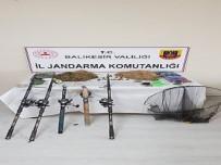 Çaygören Çayında Kaçak Balık Yakalayanlara Para Cezası Verildi