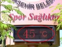 KUZEY AFRIKA - Termometreler 45 dereceyi gördü!