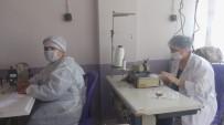 Selendi'de Gönüllü Maske Üretimi Devam Ediyor