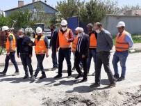 Kaman İlçesinde,  Altyapı Yenileme Çalışmaları Başlatıldı