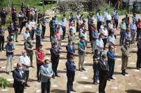 Adanalı Şehide Sosyal Mesafeli Tören