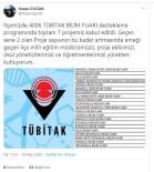 Diyadin'de 7 Okulun Projesi TÜBİTAK Tarafından Kabul Edildi
