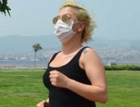 ALSANCAK - Maskeyle spor yapmak 'ölümcül' olabilir!