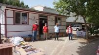 Sarıgöl'de Kızılay İhtiyaç Sahibi Ailelerin Yüzünü Güldürdü