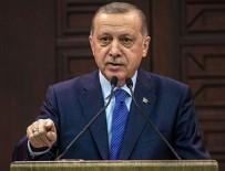 SİYASİ PARTİ - Cumhurbaşkanı Erdoğan'dan anlamlı mesaj!