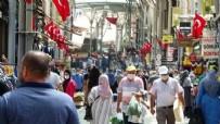 KAPALI ÇARŞI - Bayram öncesi sokaklarda akılalmaz görüntüler!