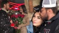 BURCU KIRATLI - Burcu Kıratlı'dan Sinan Akçıl'a romantik kutlama!