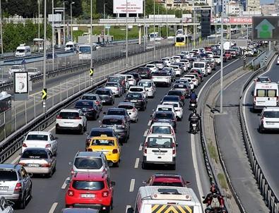 İstanbul'da son ayların en yoğun trafiği