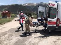 Helikopter Ambulans Bu Kez Mantardan Zehirlenen Hasta İçin Havalandı