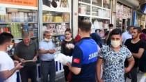 Nusaybin'de Vatandaşlara Ücretsiz Maske Dağıtıldı