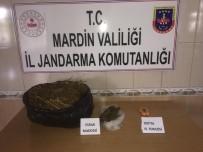 Mardin'de 5 Kilo Esrar Ele Geçirildi