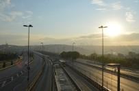 VATAN CADDESİ - 4 günlük kısıtlamanın ilk gününde İstanbul boş kaldı