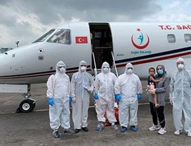 Koronavirüse yakalanan Türk vatandaşı yurda getirildi!