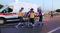 Ticari Araçla Otomobil Çarpıştı Açıklaması 1'İ Ağır 4 Yaralı
